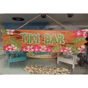 Other - Summer Tropical Tiki Sign